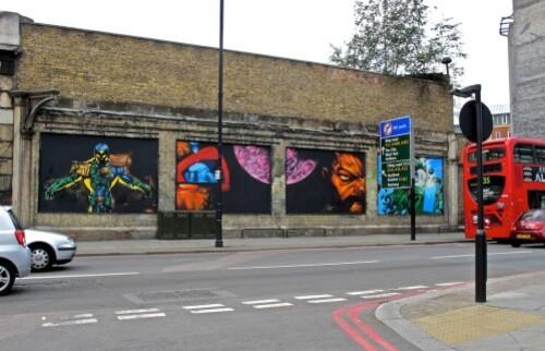 street-art Londres Shoreditch
