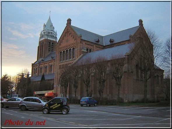 Bailleul (Nord) Eglise Saint-Vaast
