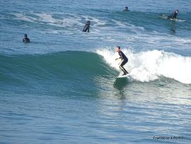 Biarritz - Surf à Milady beach