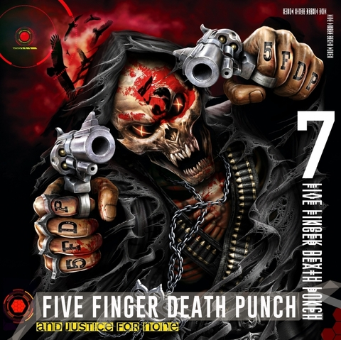 FIVE FINGER DEATH PUNCH - Les détails du nouvel album And Justice For None