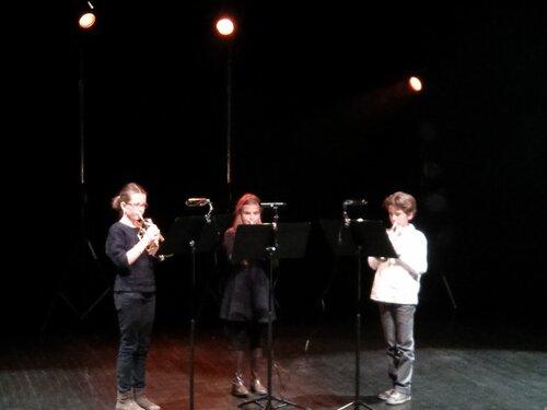 Trio de trompettes primé au concours de trios de Bellac