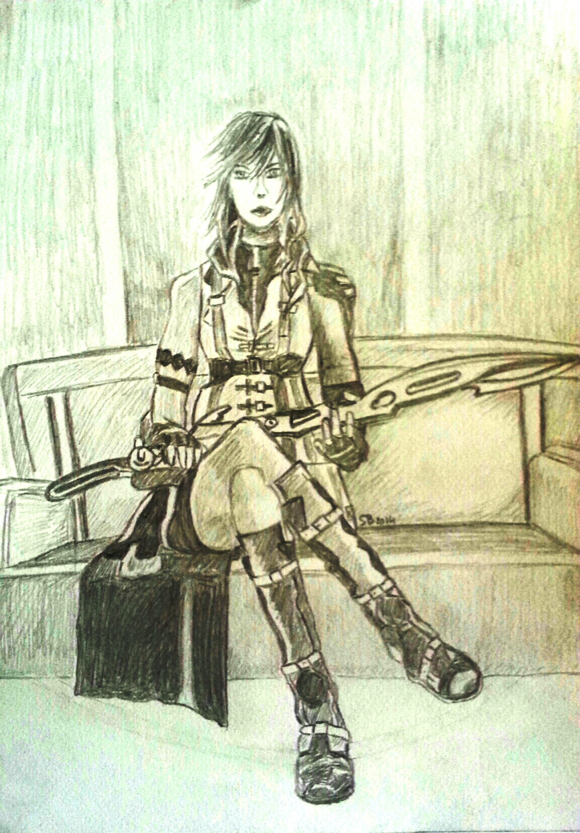 Fan Art Final Fantasy XIII by ShadowsLabs
