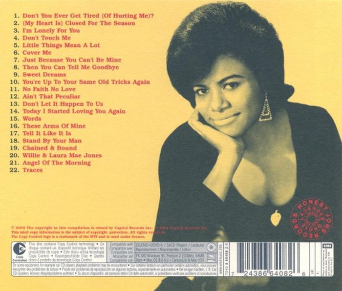 """Bettye Swann : CD """" Bettye Swann """" Capitol Records 7243 8 66408 2 6 [ US ]"""