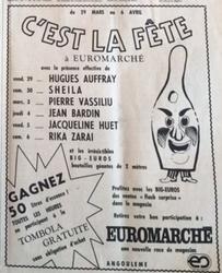 30 mars 1974 : dédicace à Angoulême.