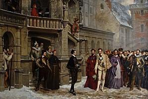 13- Pierre Charles Comte Henri III et le duc de Guise 1855-