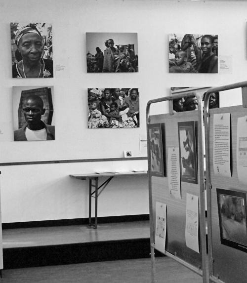 Exposition photos - Salle centrale - Genève