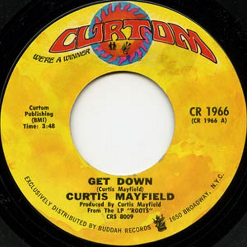 1971 : Single SP Curtom Records CR 1966 [ US ]