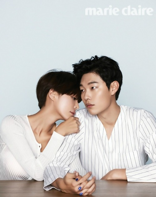 Ryu Joon Yeol et Hwang Jung Eum pour Marie Claire