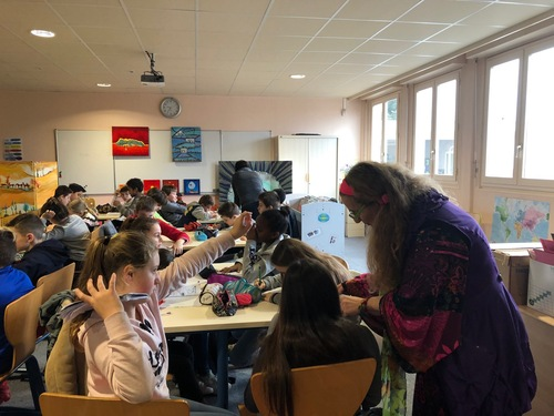 Collège dans la Loire
