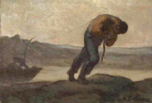 LA RIVIERE - Histoire du halage