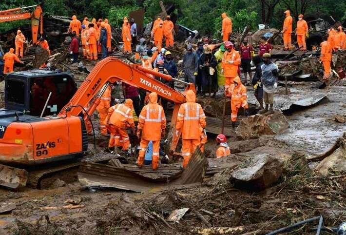 Au moins 43 morts en Inde après un glissement de terrain