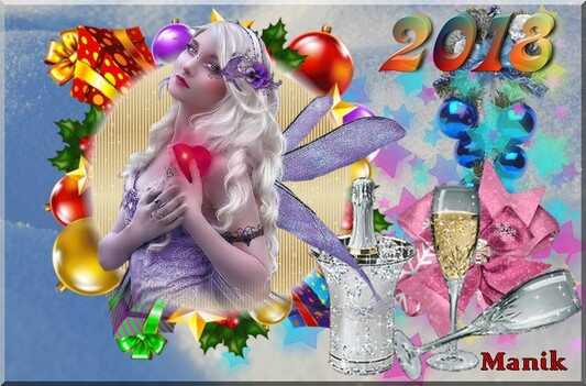 2018 avec santé , joie bonheur pour tous !