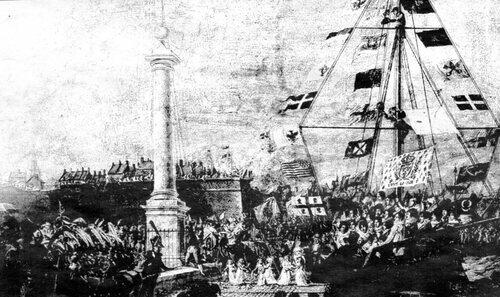 Louis XVIII choisit Calais pour son retour d'exil