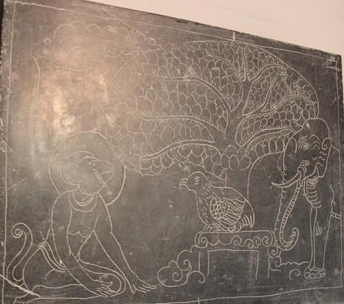 le très beau musée de Sukhothai
