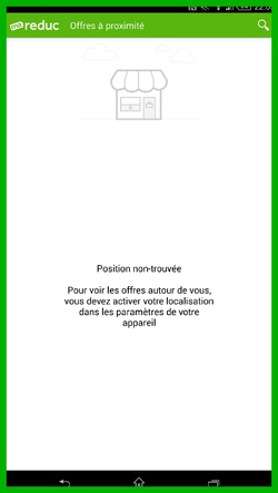 Application Smartphone : Ma Reduc