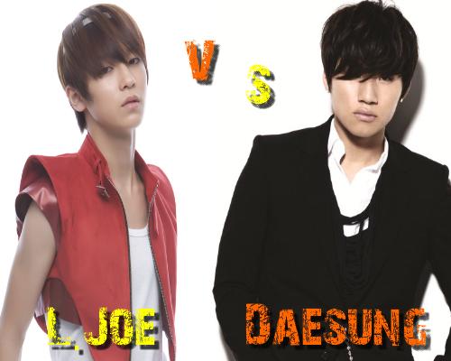 L.Joe (Teen Top) vs Daesung (Big Bang) - Round 18