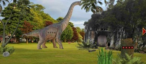 Jouer à Dinosaur adventure escape