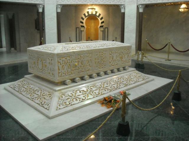 Tombeau  d'Habib Bourguiba à Monastir