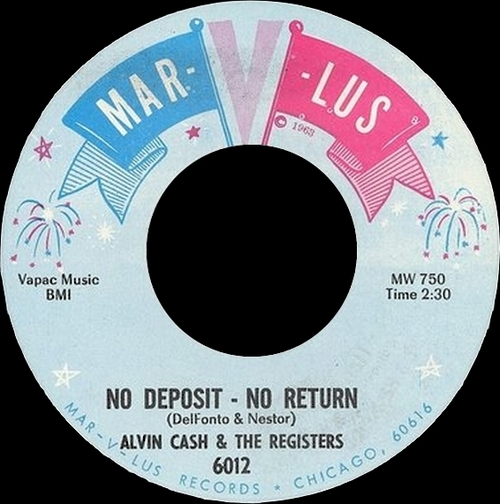 1966 : Single SP Mar-V-Lus Records 6012 [ US ]