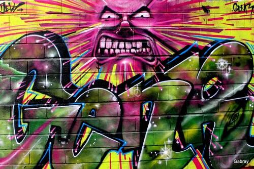 Peintures murales ou graffitis ... n1