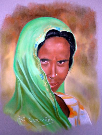 Annie Claire Couvray, artiste Peintre Inspirée
