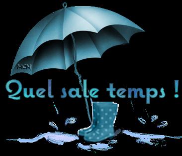 temps parapluie