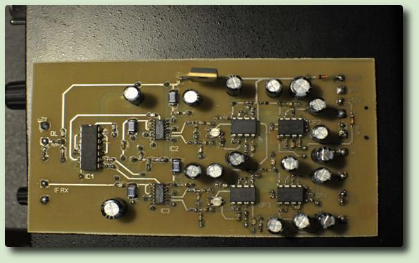 Projet de réalisation d'un transceiver SDR