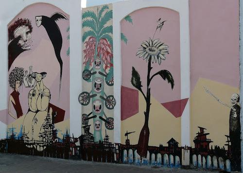 de jolies fresques murales