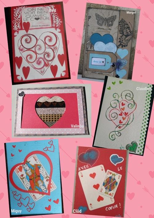 Défi Cartes postales