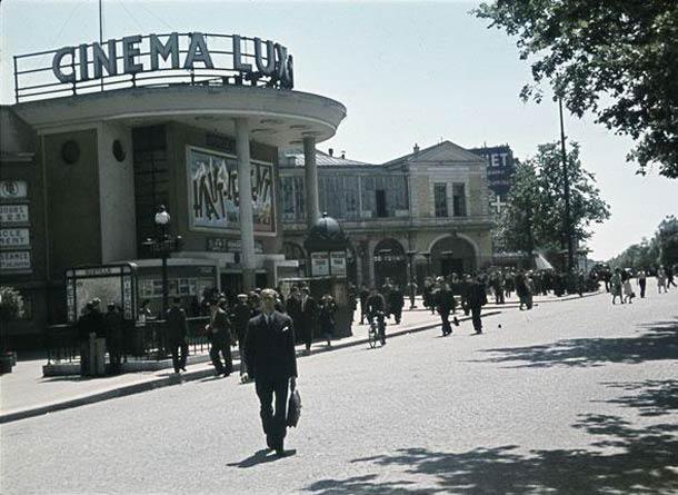 Le cinéma Lux, place de la Bastille. A l'affiche :