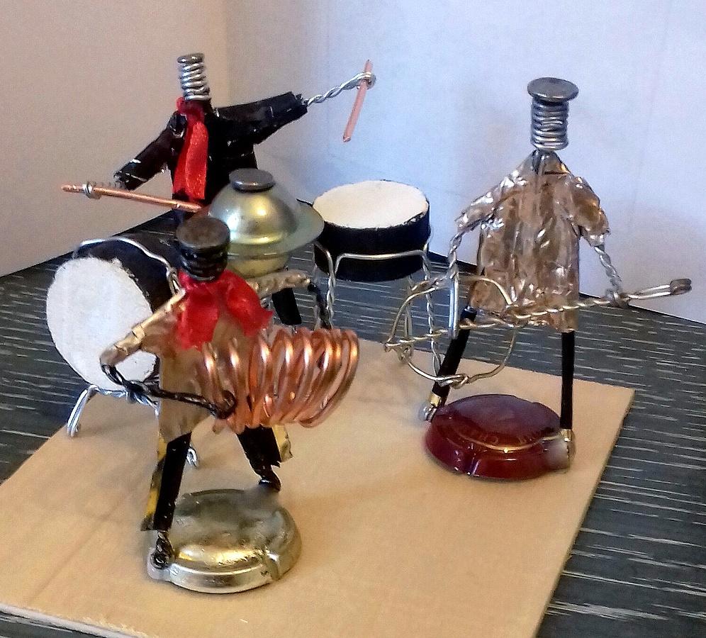 Orchestre avec éléments de muselets