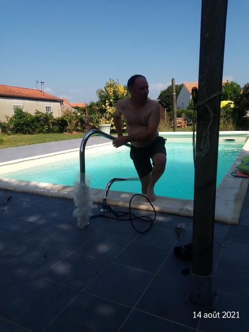 Barbecue, piscine
