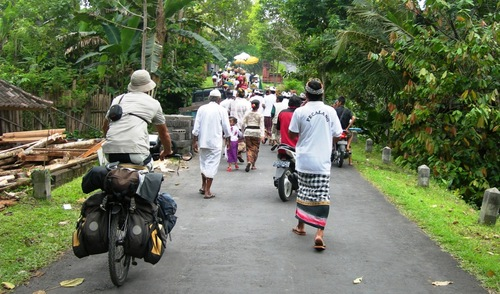 Bali à Vélo août 2010
