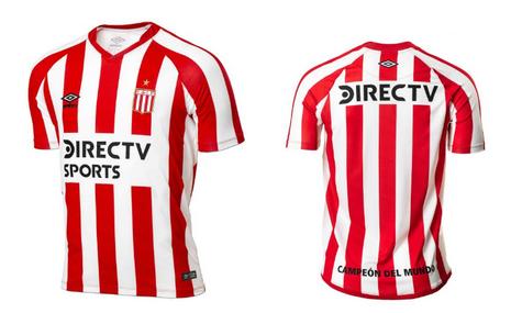 Nouveau maillot Estudiantes de La Plata 2019 Domicile