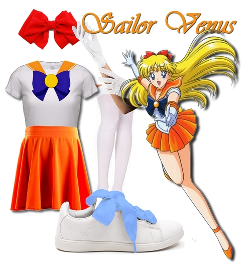 Cosplay facile de Sailor Venus x Mars