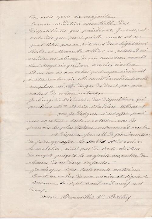 Testament 7/4/1902 - 3