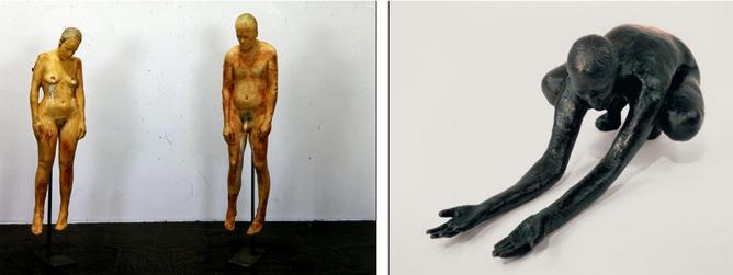 Untitled, 1990 ; Untitled, 1992