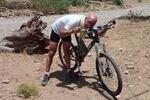 Mounir retrouve son vélo, déailleur réparé