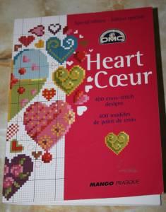 livre coeurs offert par Elodie