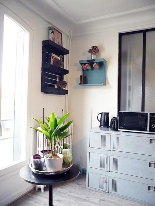 Transformer un vestiaire en métal en meuble de rangement - DIY