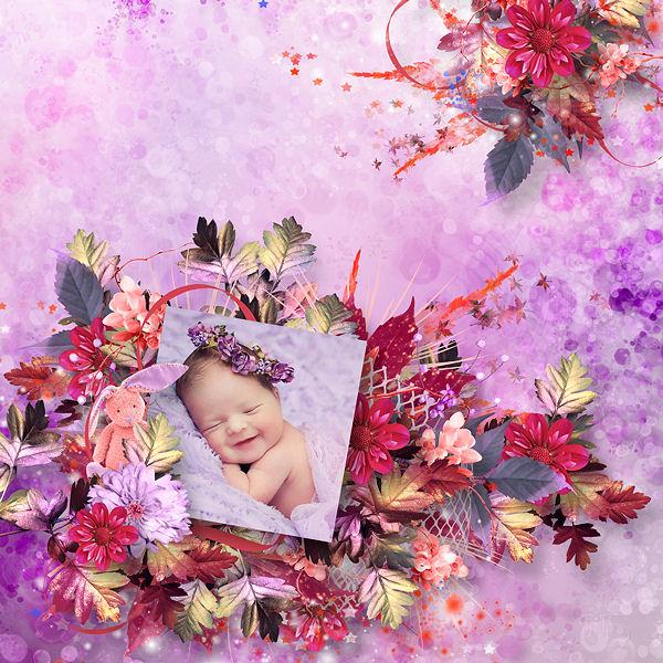 """My Sweet pink autumn"" by Kastagnette & Didine"