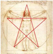 le symbolisme des pentagrammes