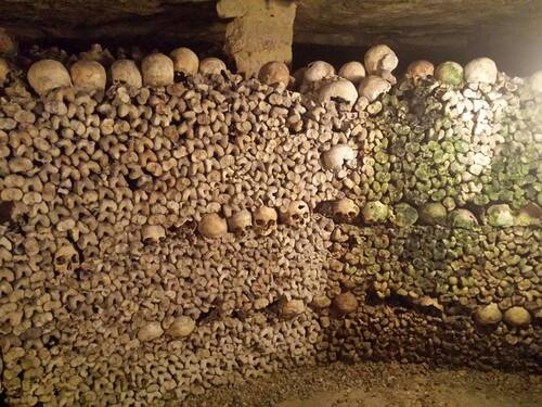 Catacombes à Paris