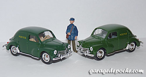 Renault 4cv La Poste