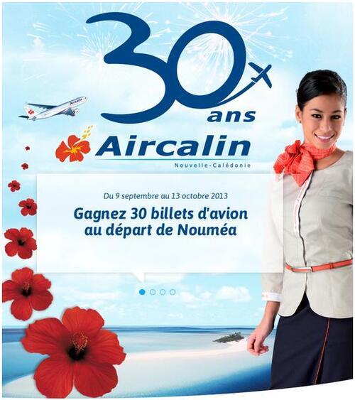 30 ans pour Aircalin