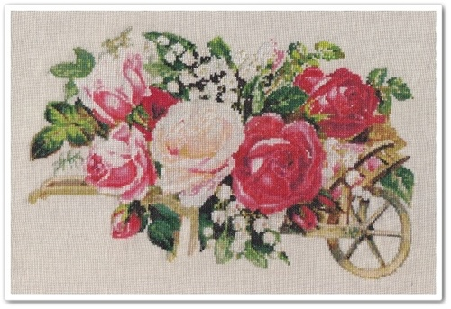 Victorian Rose Cart 17
