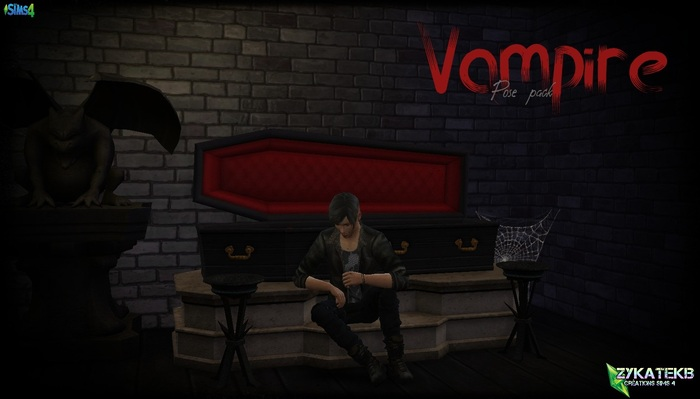 Vampire Pose Pack