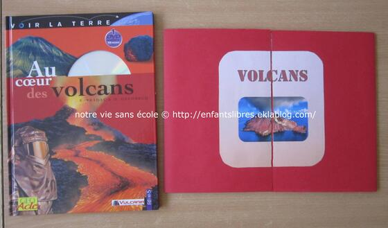 Mini lapbook des volcans