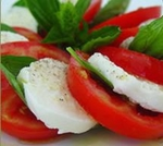 Tomate mozzarella : Huile Essentielle de Basilic BIO