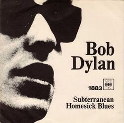Side by Side # 96 : Subterranean Homesick Blues - Bob Dylan/Mitch Ryder